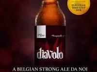 Diavolo, Belgian Strong Ale premiada no European Beer Star 2018, é o lançamento da Cervejaria Noi